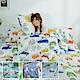 AmissU 200織紗天然純棉雙人加大床包3件組 多款任選