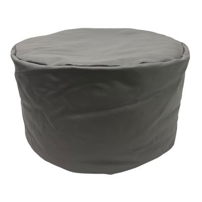 英國Better Dream Bean Bag懶骨頭-素色圓-灰(寬45cm高25cm)
