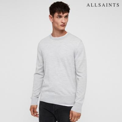 ALLSAINTS LANG MERINO 純羊毛素面衛衣