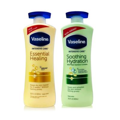 Vaseline 潤膚乳液 20.3oz(蘆薈/燕麥)