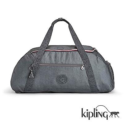 Kipling 旅行包 深藍素面-大