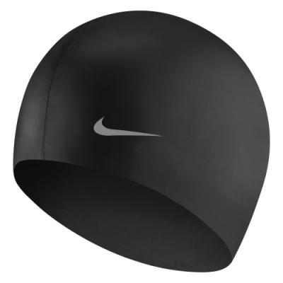 NIKE 兒童 泳帽 矽膠 黑 TESS0106-001 (男女童泳帽)
