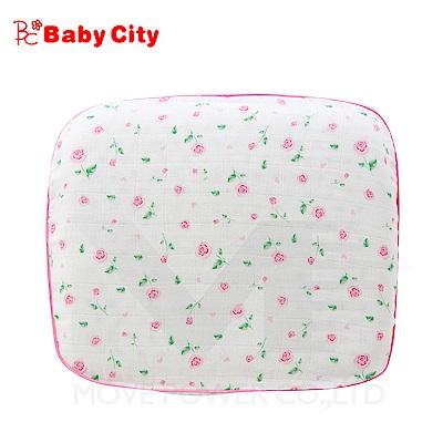【任選】娃娃城BabyCity-舒眠乳膠塑型枕/粉