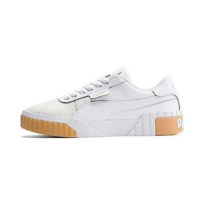 PUMA-Cali Exotic Wn s女性復古休閒鞋-白色