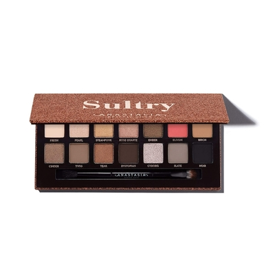 (NG品)ANASTASIA BEVERLY HILLS Sultry14色眼影盤0.83gx14