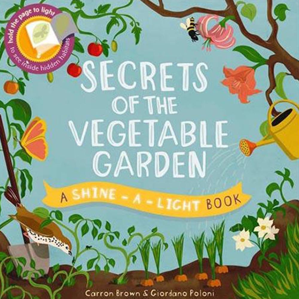 Secrets Of The Vegetable Garden 透光書:菜園篇平裝繪本