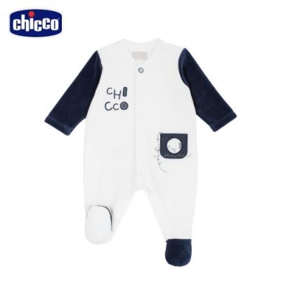 chicco-熊貓小釣手-剪毛絨前開兔裝