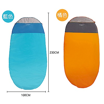 【KISSDIAMOND】大尺碼加大雙人保暖睡袋