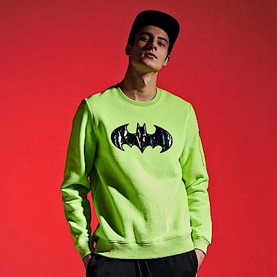 CACO-蝙蝠俠口袋衛衣-情侶款(兩色)-男【QDC035】