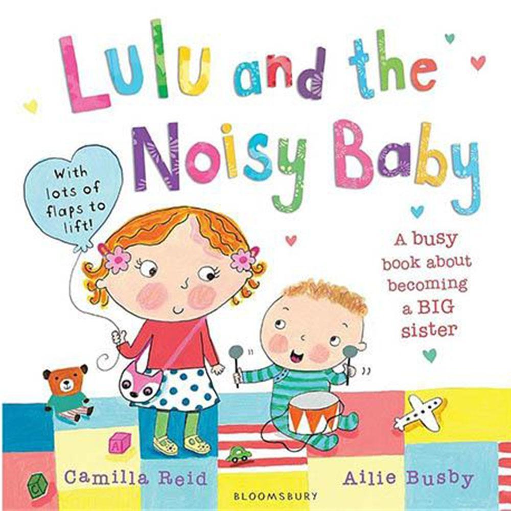 Lulu And The Noisy Baby Lulu和吵鬧的弟弟平裝操作書