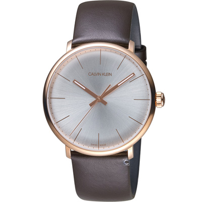 Calvin Klein ck巔峰系列復刻版時尚腕錶(K8M216G6)