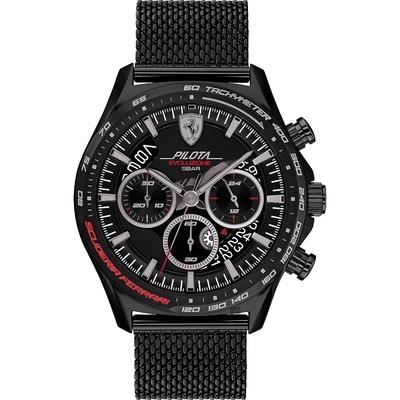 Scuderia Ferrari 法拉利 時尚米蘭帶計時手錶-44mm FA0830827