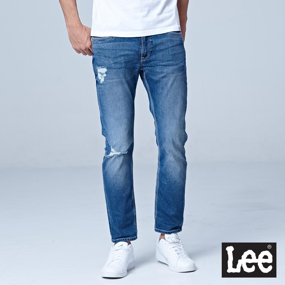 Lee 低腰修身直筒牛仔褲/DC