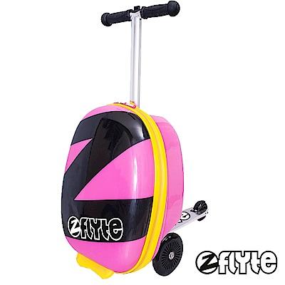 ZINC FLYTE - 18吋多功能滑板車行李箱 - 粉紅超能Z
