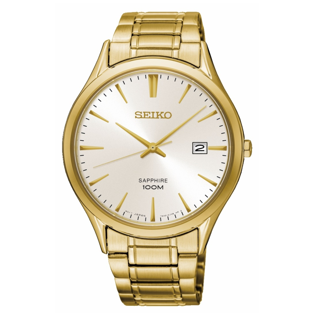 SEIKO CS時尚簡約紳士風格手錶-7N42-0FW0G/SGEH72P1