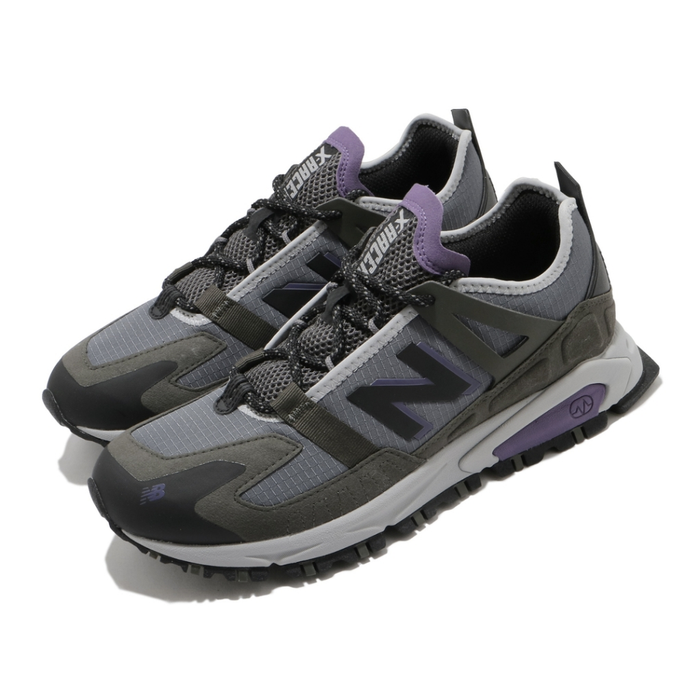 New Balance 慢跑鞋 X Racer 運動 男女鞋 紐巴倫 基本 簡約 舒適 避震 穿搭 灰 紫 MSXRCTCBD
