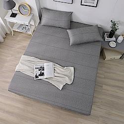 DESMOND岱思夢 單人 天絲床包枕套二件組(3M專利吸濕排汗技術) 簡約主義