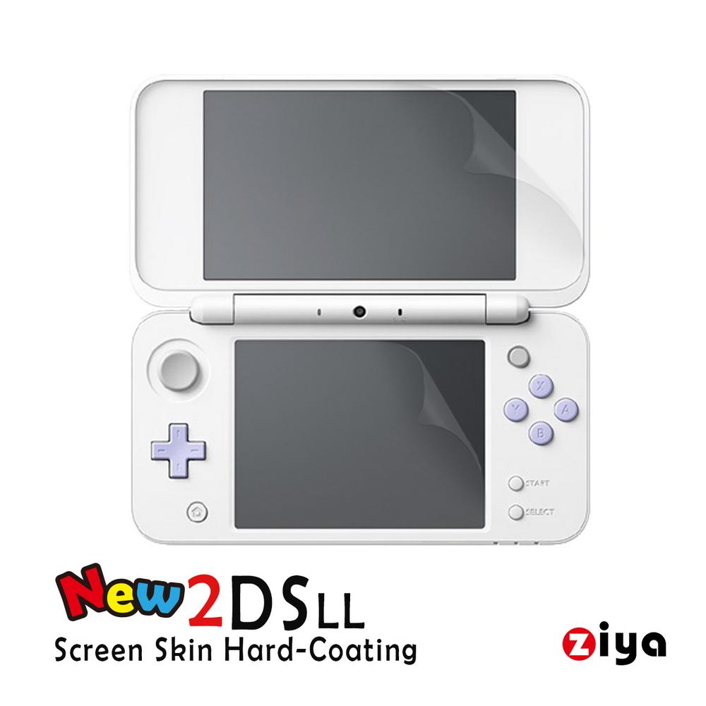 [ZIYA] 任天堂 NINTENDO 2DS-LL 抗刮螢幕保護貼 亮面增亮款