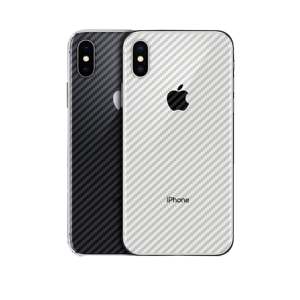 御殼坊 Apple iPhone XS MAX 背面保護貼抗刮(碳纖紋背貼)超值2片入