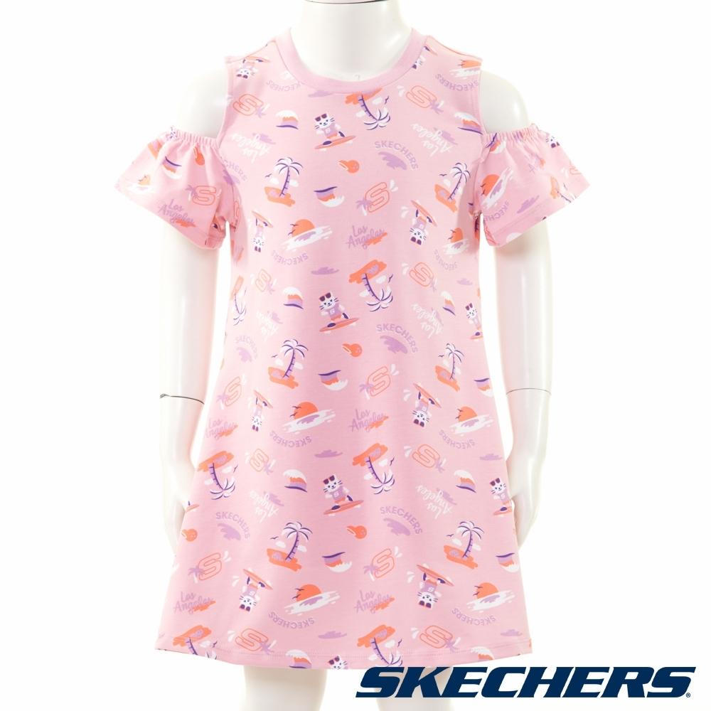 SKECHERS 女童洋裝 - L220G025-0093