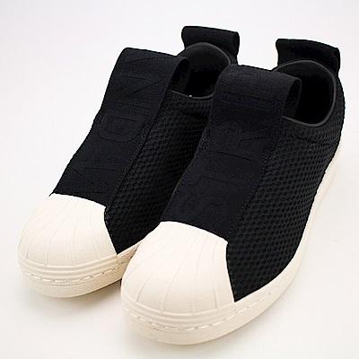 ADIDAS-女休閒鞋BY9137-黑