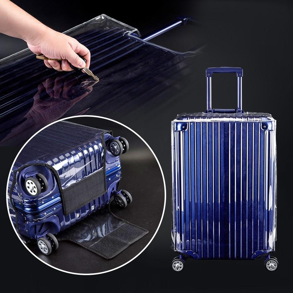 【VENCEDOR】全透明高質感行李箱保護套