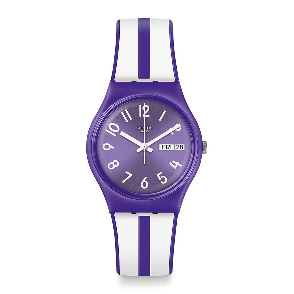 Swatch Energy Boost 系列 NUORA GELSO 紫莓甜心手錶