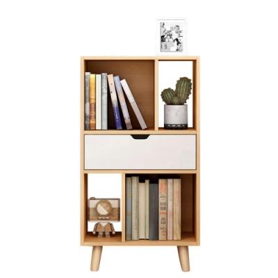 CityShop L76簡約置物收納書櫃 三層50*25*92cm