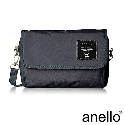 anello 多功能性輕量休閒斜肩背包 深藍