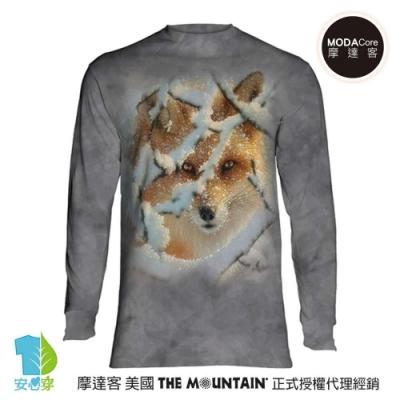 摩達客 美國進口The Mountain 狼迷藏 純棉長袖T恤