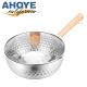 GREEGREEN 日式極厚雪平鍋18cm 附鍋蓋 牛奶鍋/單柄鍋/湯鍋 product thumbnail 1