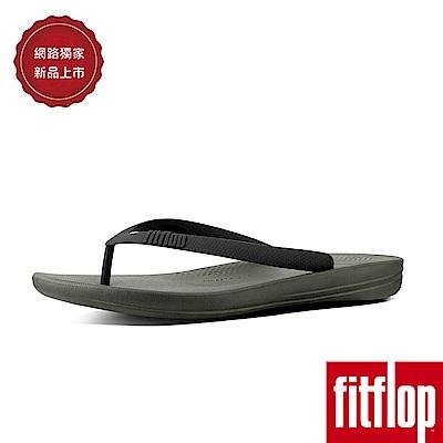 FitFlop IQUSHION FLIP FLOPS-迷彩綠