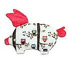 La Millou 豆豆小豬枕嬰兒枕安撫玩具- 樹屋貓頭鷹(粉紅棉花糖)
