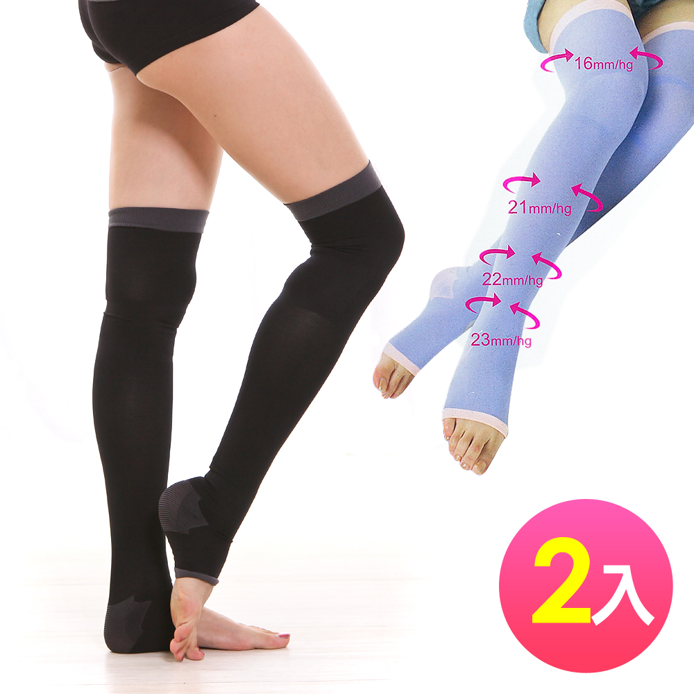non-no儂儂 塑腿襪睡眠襪 200丹美腿塑腿型(2雙)