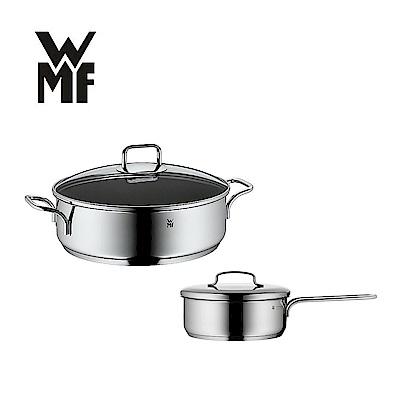 [買鍋送鍋] 德國WMF ProfiSelect 雙耳淺燉鍋28CM(含蓋)