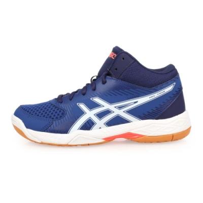 ASICS GEL-TASK MT 男排羽球鞋-羽球 排球 訓練  藍白