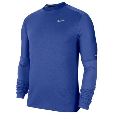 NIKE 長袖上衣 運動 健身 慢跑  男款 藍 CU6072430 AS M NK ELMNT CREW