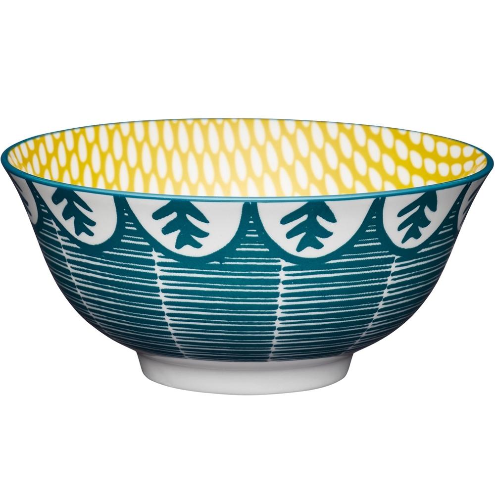 《KitchenCraft》陶製餐碗(和風綠)