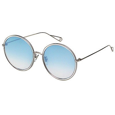VEDI VERO 圓框 水銀面 太陽眼鏡 (銀色)VJ147