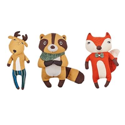 尾巴與我 填充玩具 (狐狸/浣熊/麋鹿)