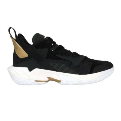 NIKE JORDAN WHY NOT ZER0.4 PF男籃球鞋-飛人喬丹 CQ4231001 黑白金
