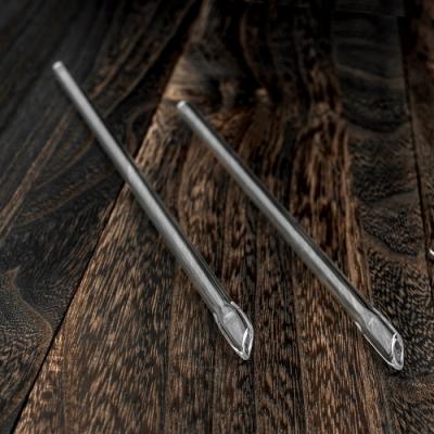 [玻璃工藝管]獨家專利戳刀吸管8mm.戳刀吸管,8mm玻璃吸管,環保吸管耐熱吸管