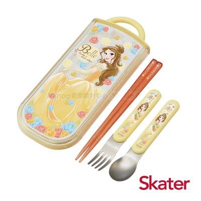 Skater三件式餐具組-美女與野獸