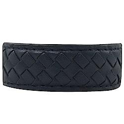 BOTTEGA VENETA 經典編織窄版手環(午夜藍)