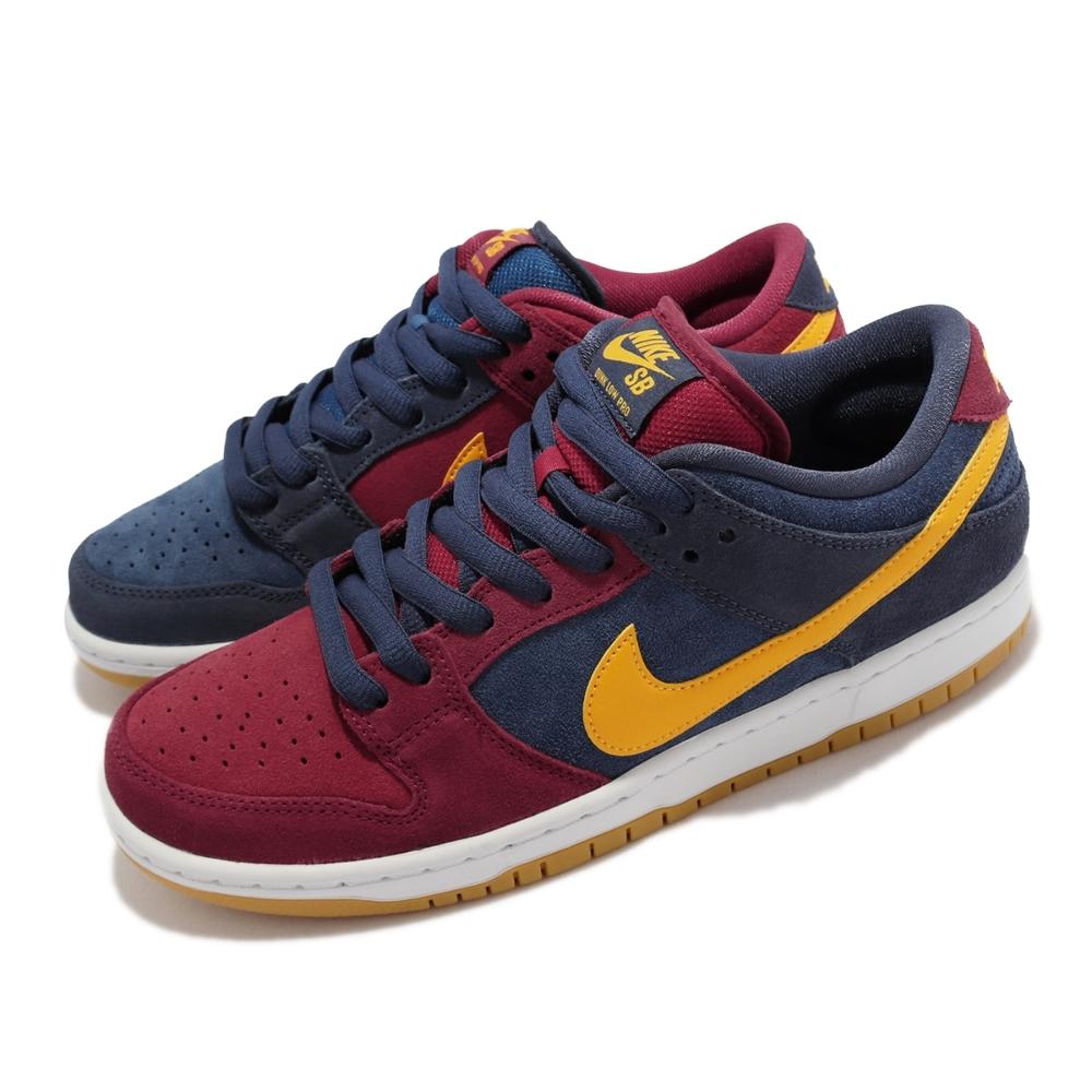 Nike 滑板鞋 SB Dunk Low Pro RPM 男鞋 經典款 厚鞋舌 鴛鴦 麂皮 舒適穿搭 藍 紅 DJ0606-400