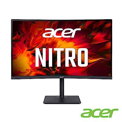 Acer XZ273U P 27型VA 2K曲面電競螢幕 支援FreeSync Premium 0.5ms 170Hz