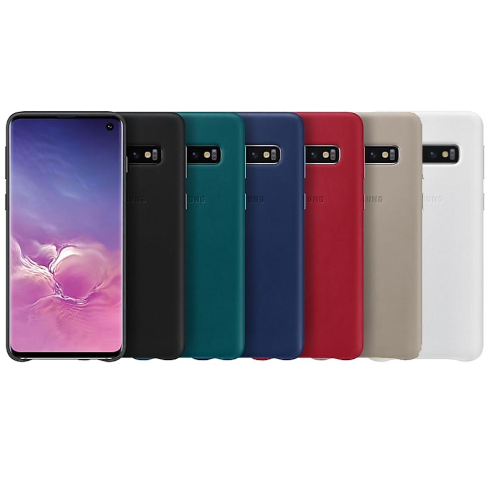 Samsung Galaxy S10 原廠皮革背蓋