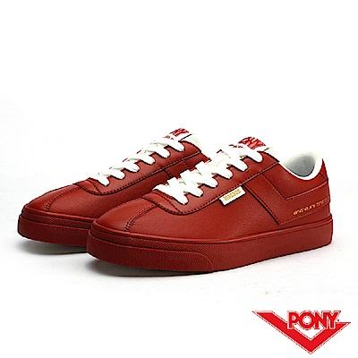 【PONY】Macado系列-經典復古休閒鞋-女-磚紅