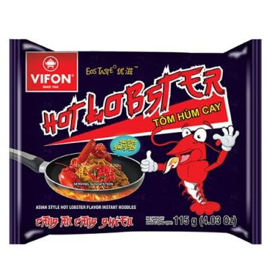 【VIFON味豐】越南 辣龍蝦風味乾拌麵 115g/包