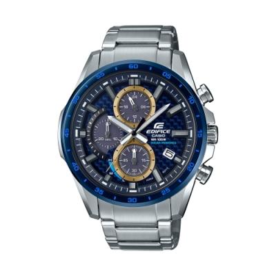 CASIO卡西歐 EDIFICE 太陽能電力 碳纖維錶盤 EQS-900BCD-2A_47.6mm